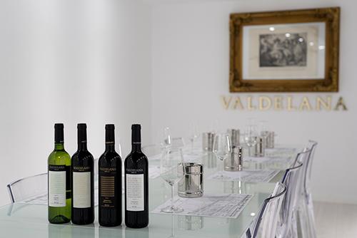 Fotografía de los vinos de Bodegas Valdelana, cliente del estudio fotógrafico El Fabricante de Nubes
