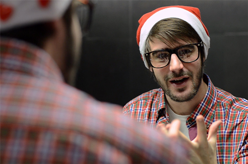 Captura del spot navideño de Zaragoza Activa, cliente de la agencia de vídeo marketing en Zaragoza El Fabricante de Nubes